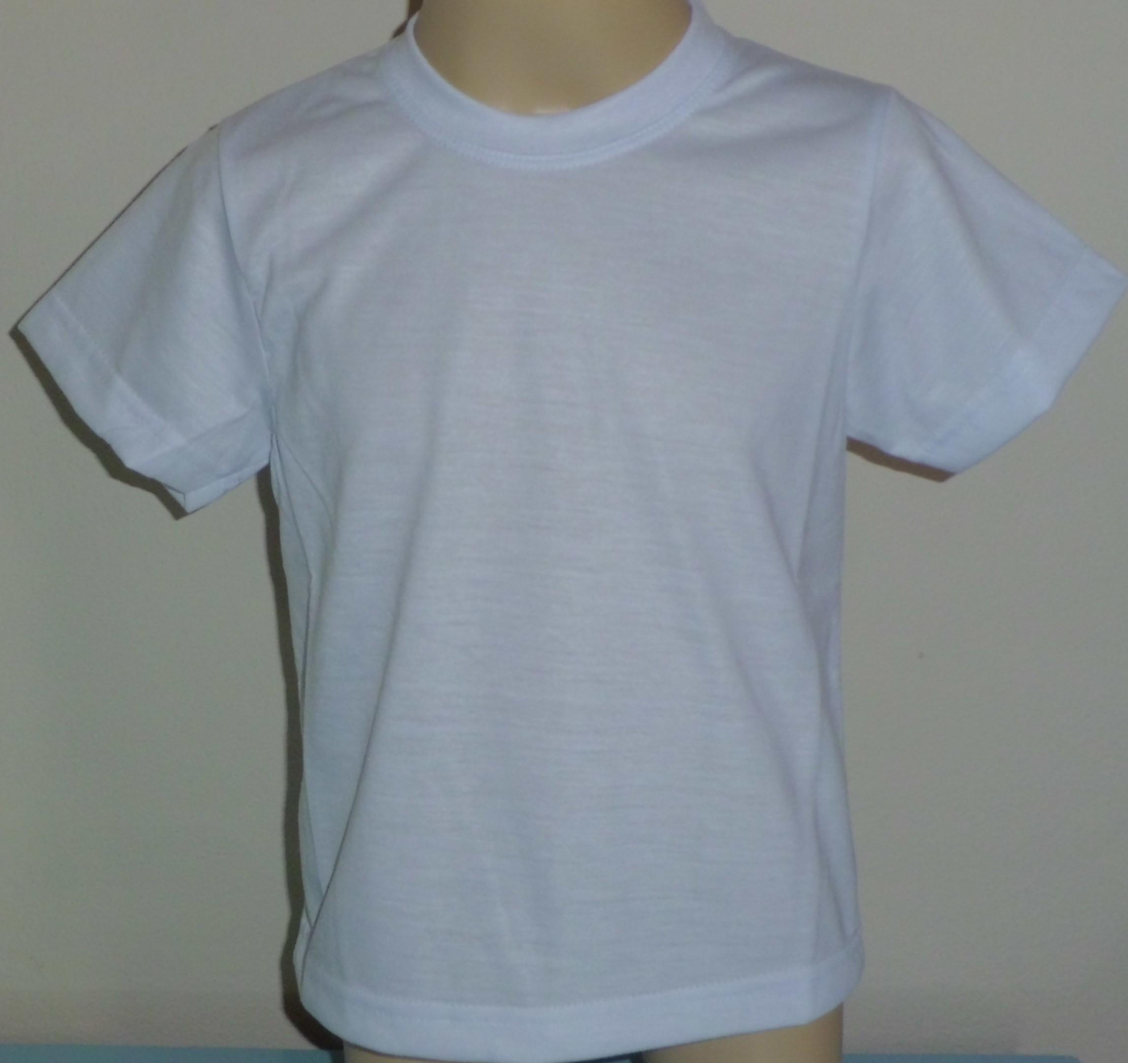1a4d3c79c1 Camiseta Bebê em Malha PP Vortex (Anti-Pilling) 100% Poliester para  Sublimação